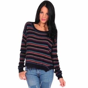 Free People Striped Road Trip Sweater